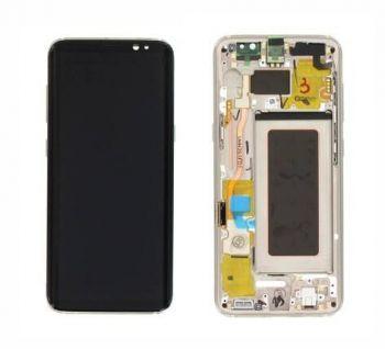 Дисплей Samsung G950 Galaxy S8 с сенсором Золотой/Gold оригинал , GH97-20457F