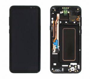 Дисплей Samsung G955 Galaxy S8 plus с сенсором Черный/Black оригинал , GH97-20470A
