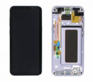 Дисплей Samsung G955 Galaxy S8 plus с сенсором Violet/Orchid Gray оригинал , GH97-20470C