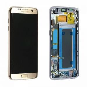 Дисплей Samsung G935 Galaxy S7 Edge с сенсором Gold оригинал , GH97-18533C